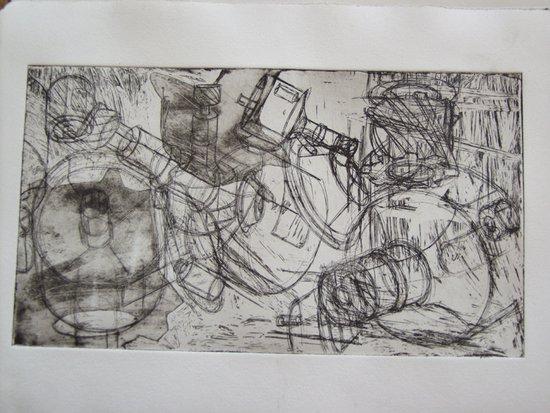 Innenarchitektur mappe  Arbeitsproben aus Erfolgreichen Mappen: Kolping Kunstschule Stuttgart