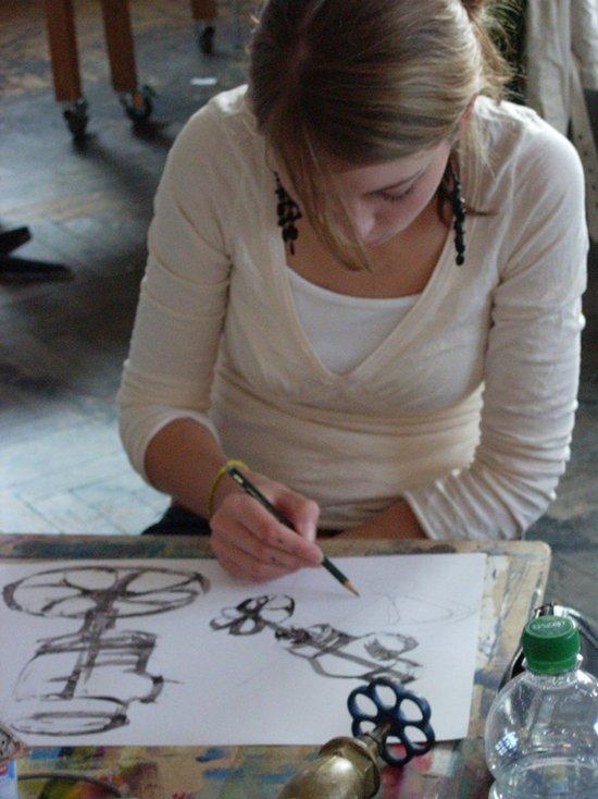 Arbeitsproben Aus Erfolgreichen Mappen Kolping Kunstschule Stuttgart